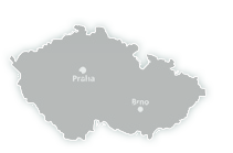 map of ČR